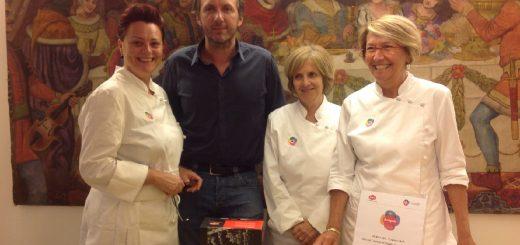 ARRIGONI & AICI in tour_Tappa Bergamo_le insegnanti con Marco Arrigoni