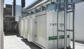 Maffei - l'impianto con turbina Capstone
