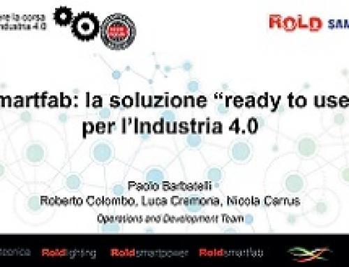 ANNIVERSARIO ROLD SMARTFAB: COME VINCERE LA CORSA ITALIANA ALL'INDUSTRIA 4.0