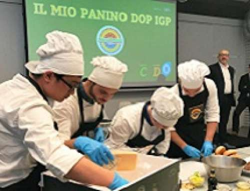 """Il """"Mio Panino DOP IGP"""" performare i giovani chef del futuro"""