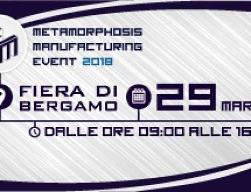SAVE THE DATE: METAMORPHOSIS MANUFACTURING EVENT 2018
