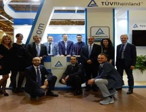 Un successo la partecipazione di TÜV Rheinland Italia a Exposanità 2018