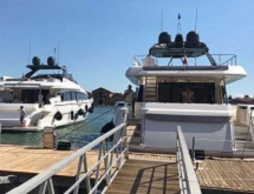 Ingemar per i 50 anni di Ferretti Yachts a Venezia