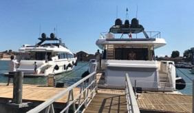 Ingemar per i 50 anni di Ferretti Yachts a Venezia su Magazine Qualità