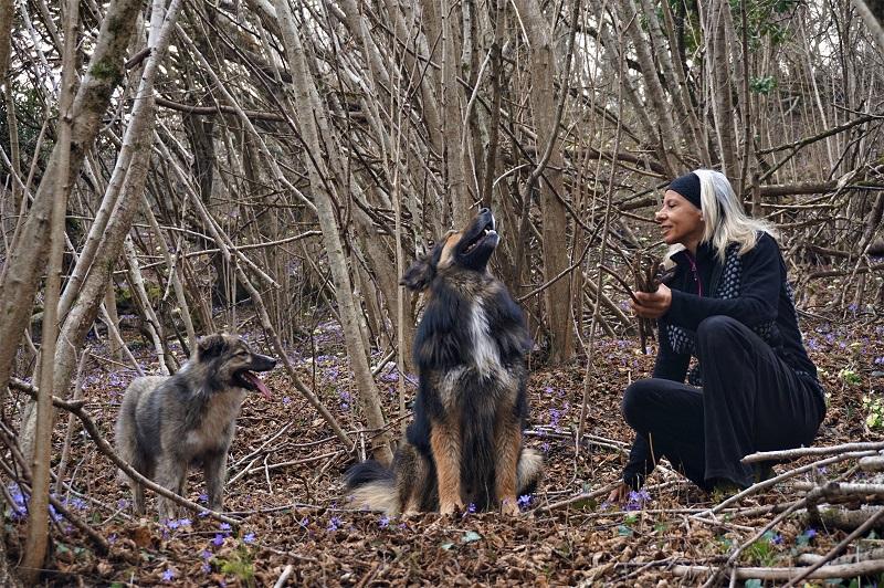 Raccogliendo Legna Nel Bosco Antonella Bellutti, testimonial Kiwa, su Magazine Qualità