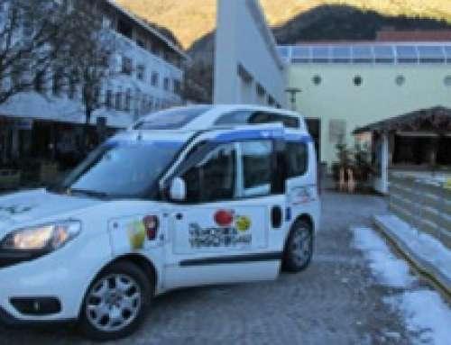 """Mela Val Venosta rinuncia ai regali di Natale 2018 e sostiene il progetto """"Mobilità in Alto Adige"""""""
