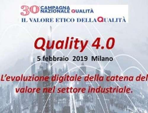 Qualità 4.0 – L'evoluzione digitale della catena del valore nel settore industriale