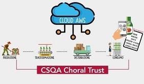 CSQA-Choral-Trust-Blockchain su magazine qualità