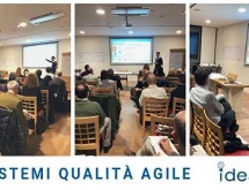 """Seminario Kiwa Idea: """"Sistemi Qualità AGILE – il sistema che crea appeal!"""""""