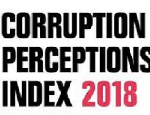 PUBBLICATO L'INDICE DI PERCEZIONE DELLA CORRUZIONE 2018. ITALIA AL 53° POSTO