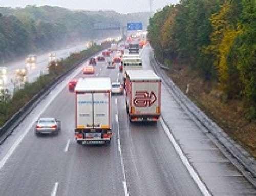 TÜV Rheinland – Sui tetti dei camion si possono formare lastre di ghiaccio