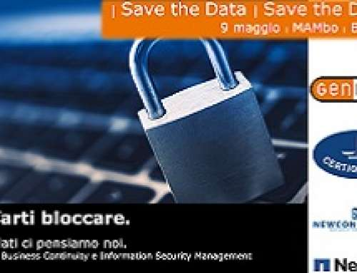 Evento: Business Continuity e Information Security Management