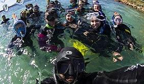 Scuola di mare WWF Travel su magazine qualità
