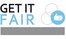 Get It Fair logo su magazine qualità