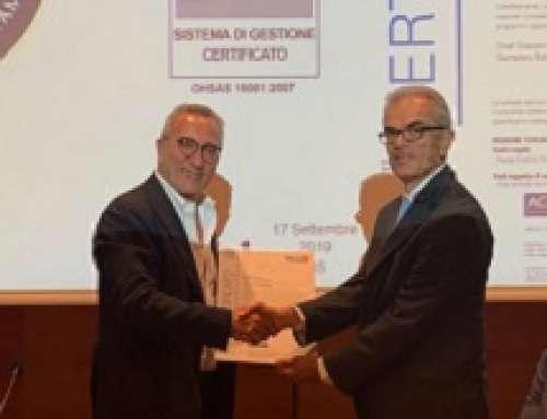 LA TOSCANA È LA PRIMA REGIONE ITALIANA AD OTTENERE LA CERTIFICAZIONE OHSAS 18001