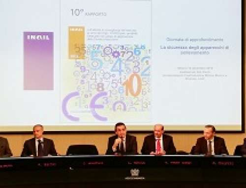 """Grande successo del seminario INAIL """"La sicurezza degli apparecchi di sollevamento"""""""