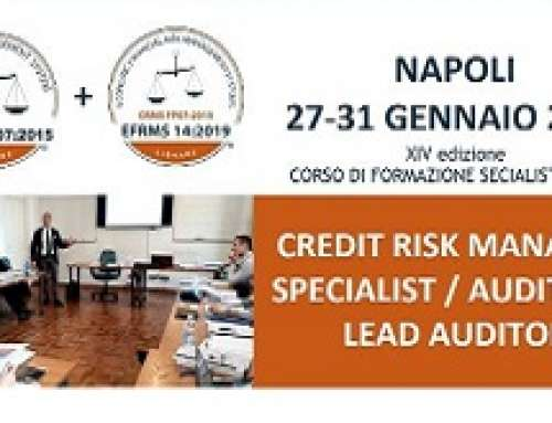 CORSO CREDIT RISK MANAGER SPECIALIST AUDITOR / LEAD AUDITOR