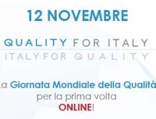 Giornata Mondiale della Qualità 2020 | Quality for Italy – Italy for Quality