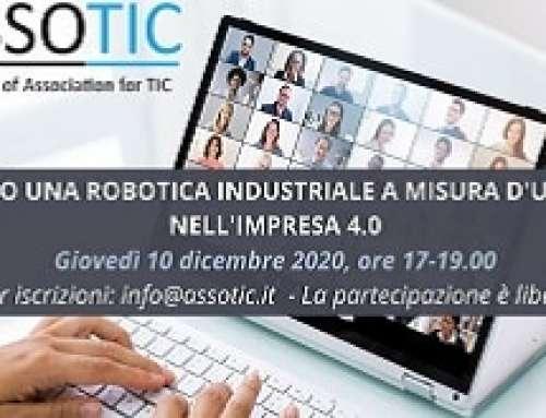 Webinar Assotic – Verso una robotica industriale a misura d'uomo nell'impresa 4.0