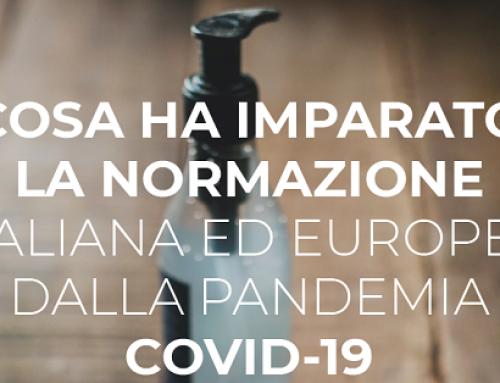 Pandemia Covid-19: cosa ha imparato la normazione tecnica