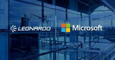 Leonardo e Microsoft SU MAGAZINE QUALITA'
