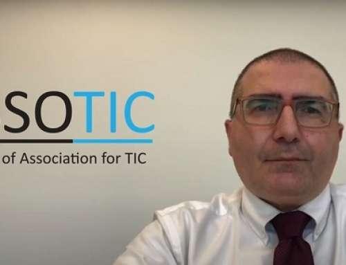 """Intervento del Predinte ASSOTIC, Vincenzo Patti, al webinar RELACRE """"Circular economy, laboratories and sustainability"""""""