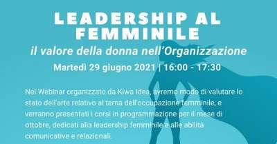 leadership al femminile kiwa su magazine qualità
