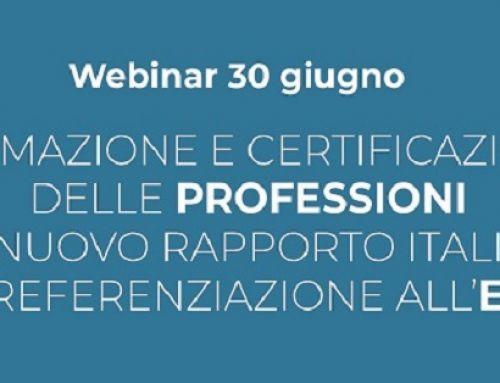 Normazione e certificazione delle professioni nel nuovo rapporto italiano di referenziazione all'EQF