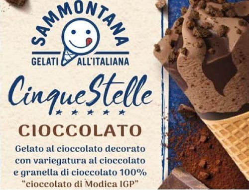 Sammontana lancia il cornetto cinque stelle con Cioccolato di Modica IGP