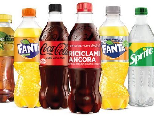 Coca-Cola: nuove bottiglie realizzata con il 100% di plastica riciclata (rPET)