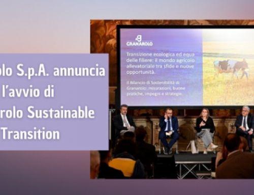 Granarolo S.p.A. annuncia l'avvio di Granarolo Sustainable Transition