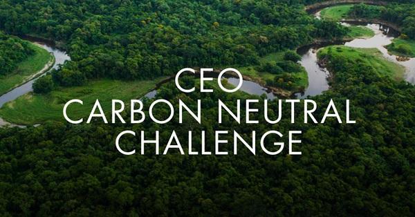 ceo carbon neutral challenge